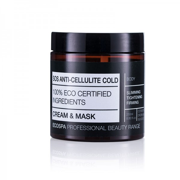 EcoSpa SOS Охлаждаща антицелулитна маска, 250 мл.