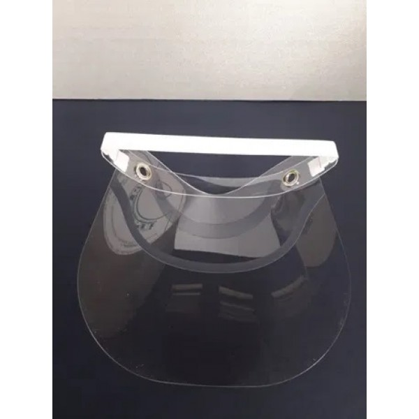 Предпазен шлем за лице с ластик