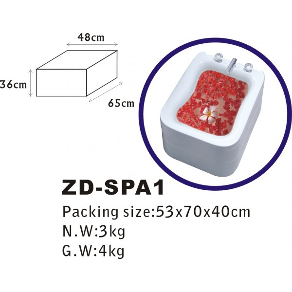 Педикюрна вана, ZD SPA1