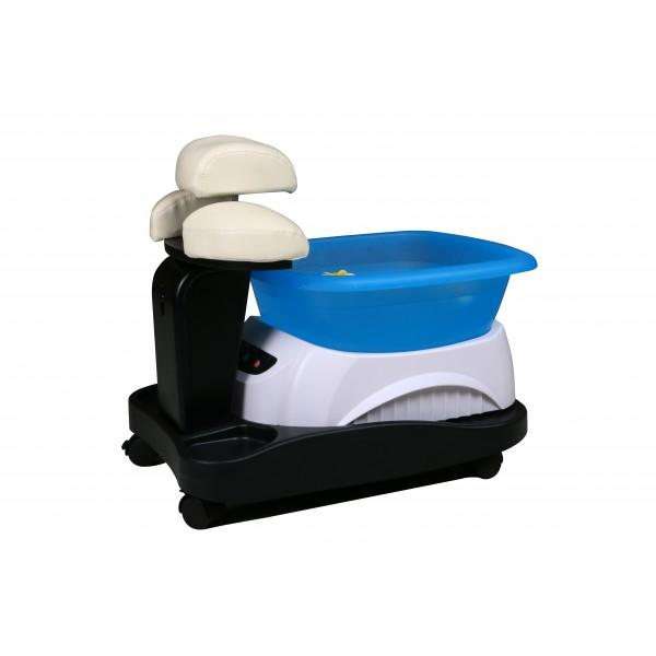 Педикюрна вана на стойка с колела