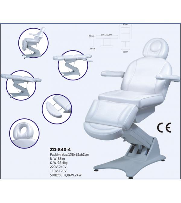 Автоматизирана козметична кушетка, ZD 840-4