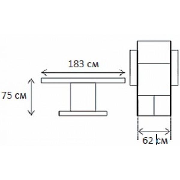 Педикюрен стол, KF 6010B
